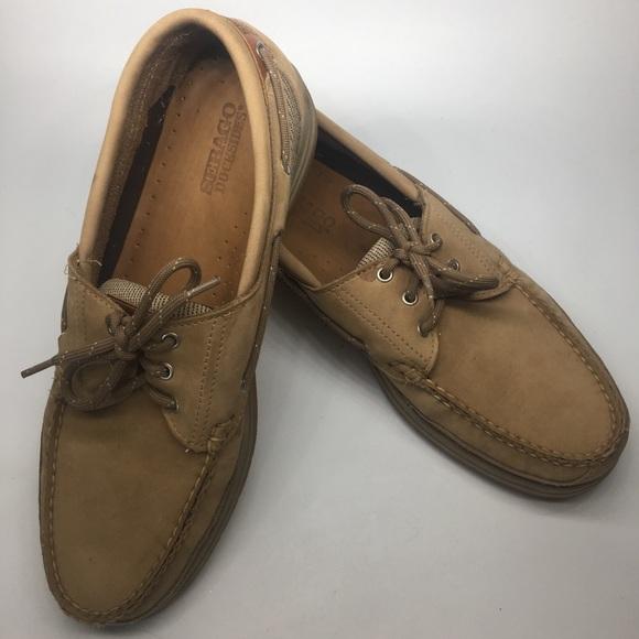 Sebago Docksides Boat Shoe Men's 10.5 Tan